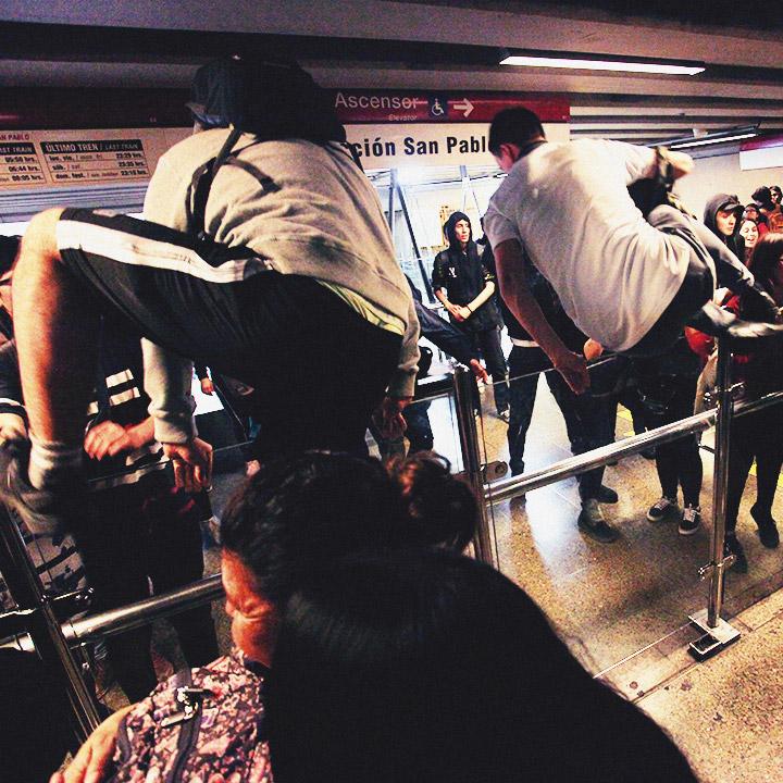 Evaciones masivas en el Metro