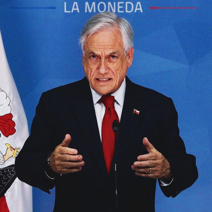 Presidente decreta Estado de Emergencia en Santiago y Chacabuco