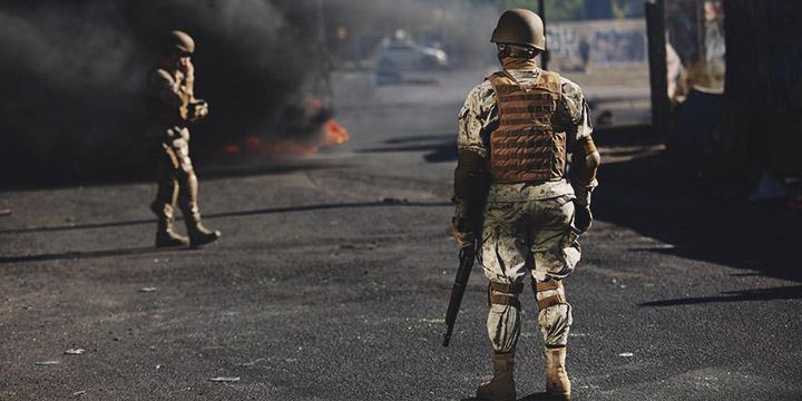 Militar es detenido por negarse a participar en Estado de Emergencia