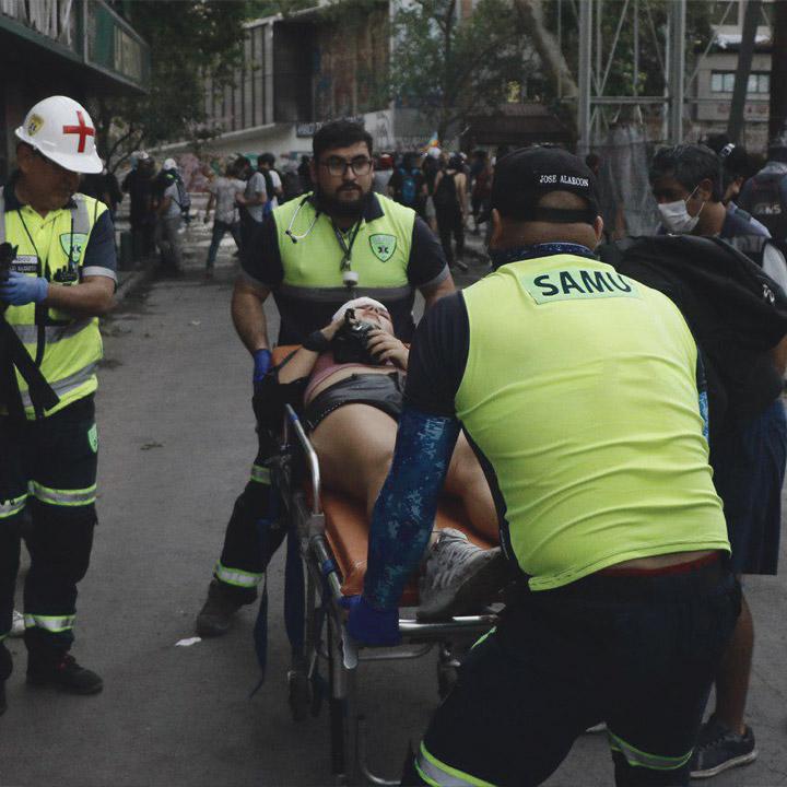 Minsal informa 20 personas en riesgo vital en todo el país