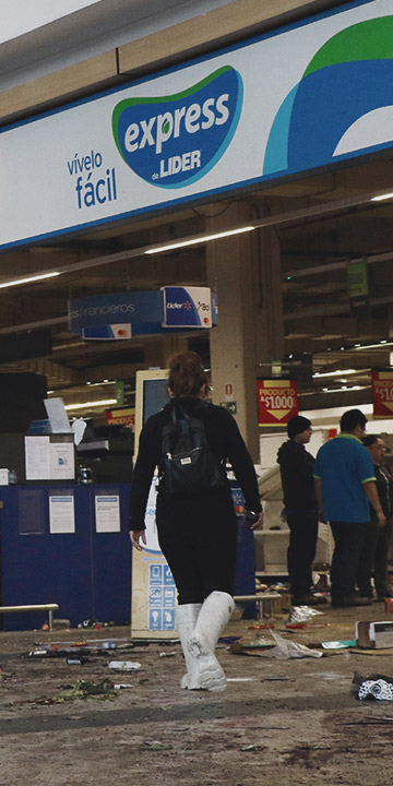 Walmart: Tenemos 400 eventos de saqueos, es algo incontrolable