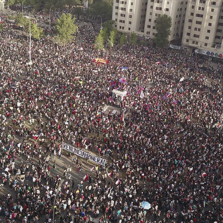 La segunda marcha más grande de Chile