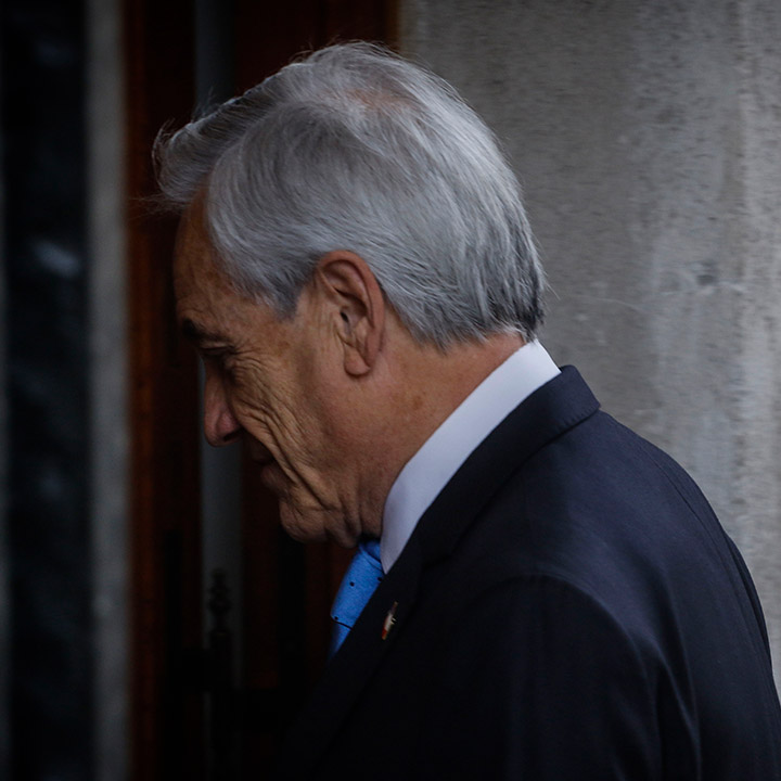 Admiten querella criminal contra el Presidente Piñera
