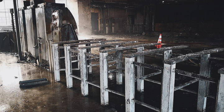 Primeros detenidos por incendios en estaciones de Metro