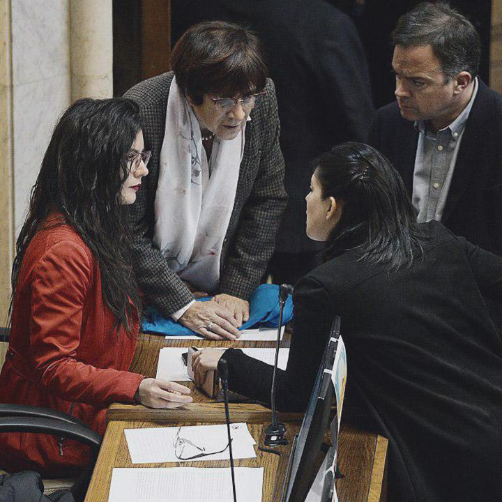 Oposición pide Plebiscito, Asamblea Constituyente y Nueva Constitución
