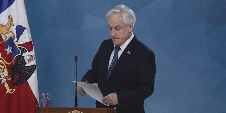 Piñera convoca a acuerdos por la paz, justicia y nueva Constitución