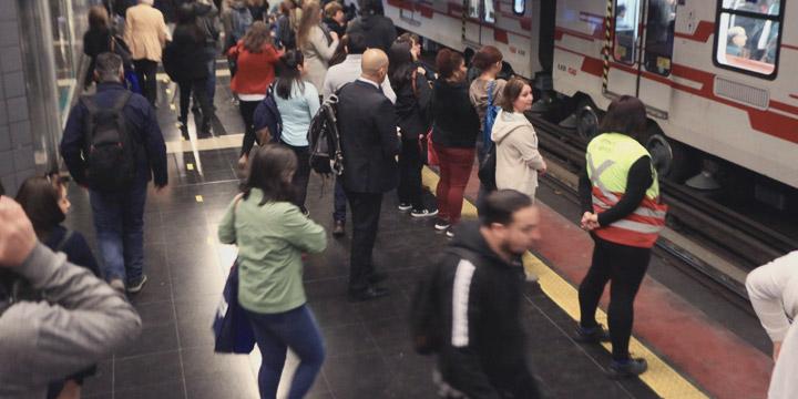 Metro anuncia reanudación de servicio a Puente Alto